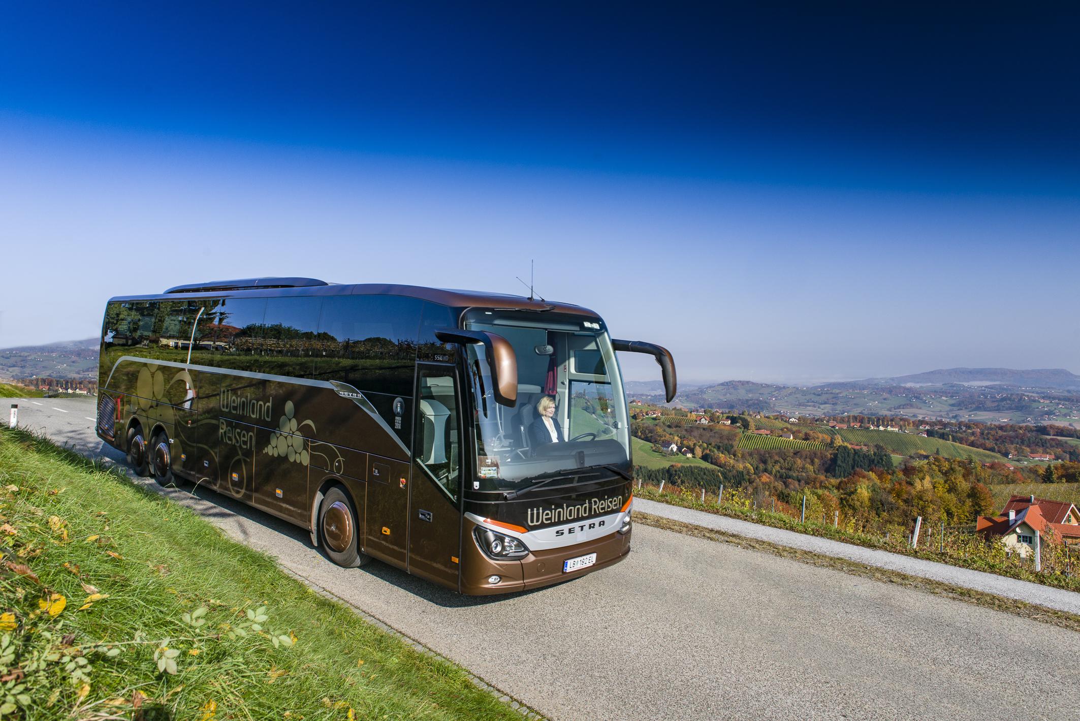 Weinlandreisen Bus